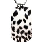 Snow Leopard	 Dog Tag (Two Sides)