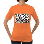 Snow Leopard	 Women s Dark T-Shirt