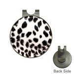 Snow Leopard	 Golf Ball Marker Hat Clip