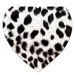 Snow Leopard	 Jigsaw Puzzle (Heart)