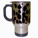 Snow Leopard	 Travel Mug (Silver Gray)