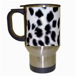 Snow Leopard	 Travel Mug (White)
