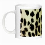 Snow Leopard	 Night Luminous Mug