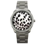 Snow Leopard	 Sport Metal Watch