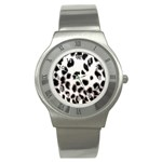 Snow Leopard	 Stainless Steel Watch