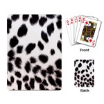 Snow Leopard	 Playing Cards Single Design