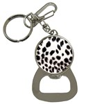 Snow Leopard	 Bottle Opener Key Chain
