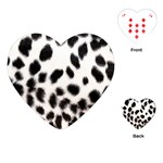 Snow Leopard	Playing Cards (Heart)