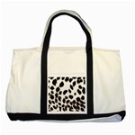 Snow Leopard	 Two Tone Tote Bag