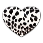 Snow Leopard	 Mousepad (Heart)