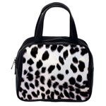 Snow Leopard	 Classic Handbag (One Side)