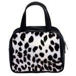 Snow Leopard	 Classic Handbag (Two Sides)