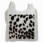Snow Leopard	 Recycle Bag (One Side)