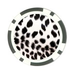 Snow Leopard	 Poker Chip Card Guard (10 pack)