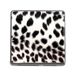 Snow Leopard	 Memory Card Reader with Storage (Square)
