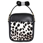 Snow Leopard	 Girls Sling Bag