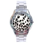 Snow Leopard	 Stainless Steel Analogue Men's Watch
