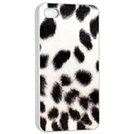 Snow Leopard	Apple iPhone 4/4s Seamless Case (White)