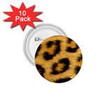 Leopard Print	 1.75  Button (10 pack)