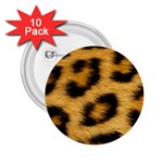 Leopard Print	 2.25  Button (10 pack)