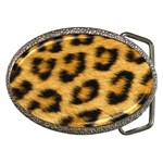 Leopard Print	 Belt Buckle