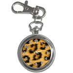 Leopard Print	 Key Chain Watch