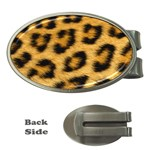 Leopard Print	 Money Clip (Oval)