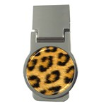 Leopard Print	 Money Clip (Round)
