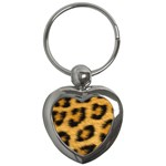 Leopard Print	 Key Chain (Heart)