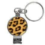 Leopard Print	 Nail Clippers Key Chain