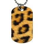 Leopard Print	 Dog Tag (Two Sides)