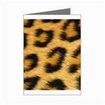 Leopard Print	 Mini Greeting Card