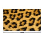 Leopard Print	 Business Card Holder