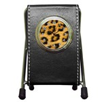 Leopard Print	 Pen Holder Desk Clock