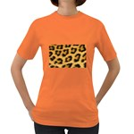 Leopard Print	 Women s Dark T-Shirt