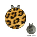 Leopard Print	 Golf Ball Marker Hat Clip