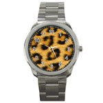 Leopard Print	 Sport Metal Watch