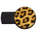 Leopard Print	 USB Flash Drive Round (4 GB)
