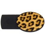 Leopard Print	 USB Flash Drive Oval (4 GB)
