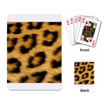 Leopard Print	 Playing Cards Single Design