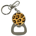 Leopard Print	 Bottle Opener Key Chain