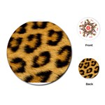 Leopard Print	Playing Cards (Round)