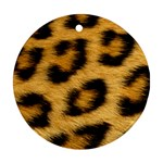 Leopard Print	 Round Ornament (Two Sides)