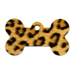 Leopard Print	 Dog Tag Bone (Two Sides)