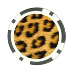 Leopard Print	 Poker Chip Card Guard
