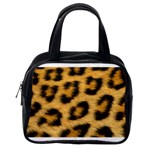 Leopard Print	 Classic Handbag (One Side)