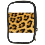 Leopard Print	 Compact Camera Leather Case