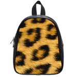 Leopard Print	 School Bag (Small)