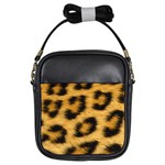 Leopard Print	 Girls Sling Bag