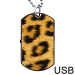 Leopard Print	Dog Tag USB Flash (One Side)